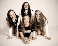 2011 FHS Varsity Cheer Team Photos