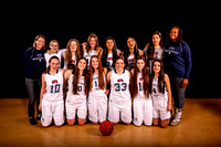 2015-2016 NPA Girls Basketball Team Photos